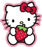 Hello Kitty Strawberry Sweet Sticker