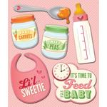 Baby Girl Food Sticker Medley - Life's Little Occasions