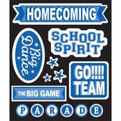 Blue Homecoming Sticker Medley - Life's Little Occasions