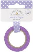 Lilac Swiss Dot Washi Tape - Doodlebug