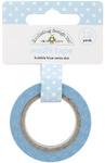 Bubble Blue Swiss Dot Washi Tape - Doodlebug