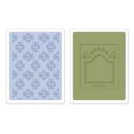 Rosebuds & Seed Packet Embossing Folders - Sizzix