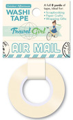 Airmail Washi Tape - Travel Girl - October Afternoon