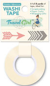 This Way Washi Tape - Travel Girl - October Afternoon