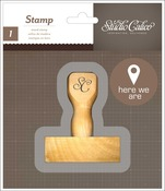 Here We Are - Atlantic Wood Handle Mounted Stamp - Studio Calico
