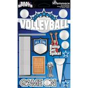 Volleyball 3D Die Cut Stickers - Real Sports  - Reminisce