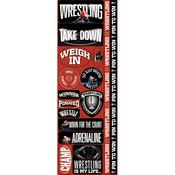 Wrestling Combo Die Cut Stickers - Real Sports  - Reminisce