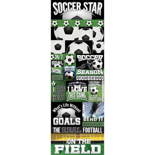 Soccer Die - cut Stickers - Real Sports  - Reminisce