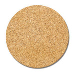 Circle Cork Label Stickers - Fancy Pants