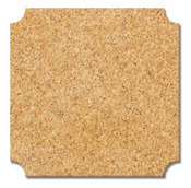 Square Cork Label Stickers - Fancy Pants