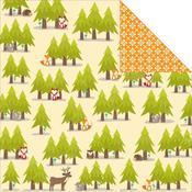 3 Parts Critters Paper - Happy Camper - Jillibean Soup