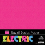 Electric 12 x 12 Paper Pack - Bazzill