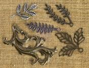 Leaves 1 Metal Embellishments - Prima