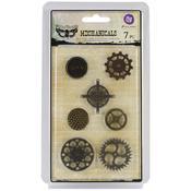 Gears Metal Embellishments - Prima