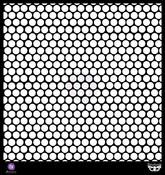 Honeycomb 12 x 12 Stencil - Prima