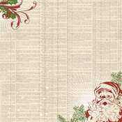 Dictionary Paper - Vintage Christmas - My Minds Eye