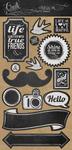 Chalk Studio Decorative Stickers - My Minds Eye