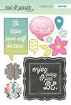 Be Chipbaord Stickers - Cut & Paste - Adorbs - My Minds Eye