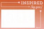 Inspired Journal Card - Cut & Paste - Presh - My Minds Eye