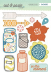 Right Now Chipboard Stickers - Cut & Paste - Presh - My Minds Eye