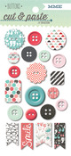 Snapshots Decorative Buttons - Flair - Cut & Paste - My Minds Eye