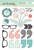 Wow Chipboard Stickers - Flair - Cut & Paste - My Minds Eye