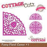 Fancy Floral Corner #1 Elites Die - Cottage Cutz