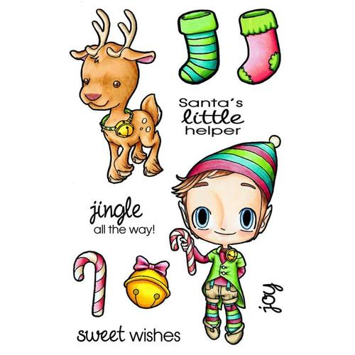 Deck The Halls Tobie Clear Stamps - Some Odd Girl