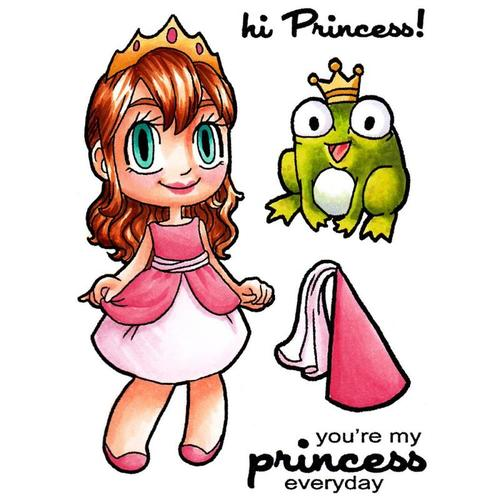 Princess Tia Clear Stamp - Some Odd Girl