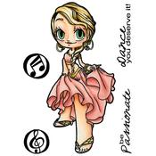 Dancer Clear Stamp - Some Odd Girl