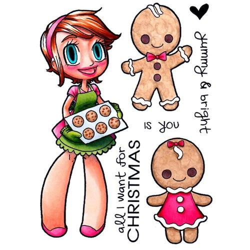 Ginger Bread Clear Stamp - Some Odd Girl
