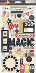 Say Cheese Chipboard Stickers - Simple Stories