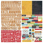 Smarty Pants Expression Cardstock Stickers - Simple Stories