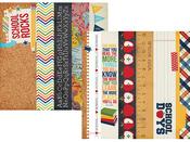 Smarty Pants 2 x 12 & 4 x 12 Title Strip Paper - Simple Stories
