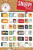 Smarty Pants Snap Card Pad - Simple Stories