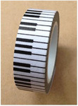 Piano Keys Washi Tape - Love My Tapes