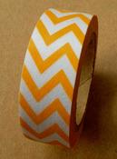 Orange Chevrons Washi Tape - Love My Tapes