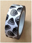 Black Shell Pattern Washi Tape - Love My Tapes
