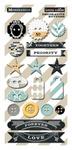 Memorabilia Decorative Buttons - Teresa Collins