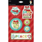 Sticker Stackers - Colors of Christmas - Imaginisce
