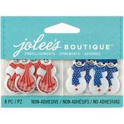 Snowman and Snow Woman - Jolees Boutique