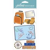 Travel Items Stickers - Jolees