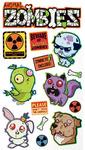 Animal Zombie Stickers - Sticko