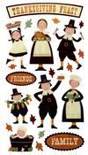 Thanksgiving Fun Stickers - Sticko