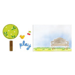 Playing In The Park Set - Textured Impressions & Framelits - Sizzix