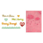 Rain Or Shine Set Textured Impressions & Framelits - Sizzix