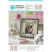 Rose Bouquet Glass Paintable Cling - Martha Stewart Crafts