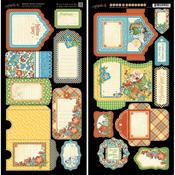 Mother Goose Tags & Pockets - Graphic 45