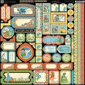 Mother Goose Stickers - Graphic 45