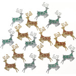 Mini Reindeer Embellishments - Jolees Boutique